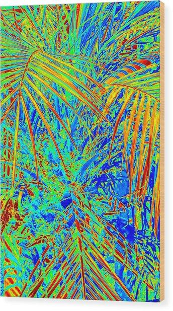 Jungle Vibe Wood Print