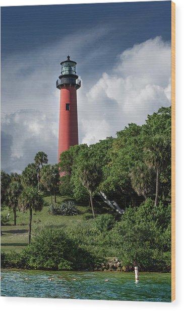 Jupiter Inlet Lighthouse Wood Print