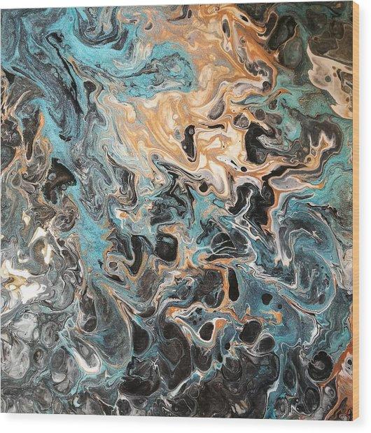Jupiter Wood Print by Susan Johansen