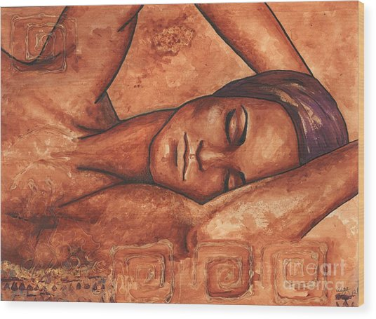 Just Lay Back And Relax And . . .  Wood Print
