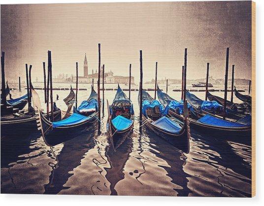 Just Sail Wood Print