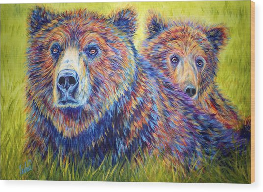 Just The Two Of Us Wood Print