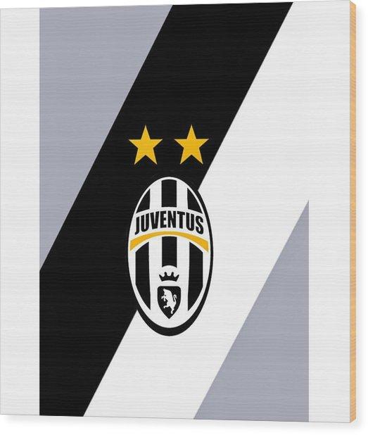 Juventus Football Club Wood Print