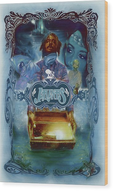 K-os Atlantis Hymns For Disco Wood Print