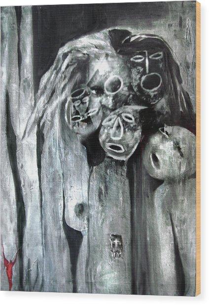 Ka - When The Root Women Speak Wood Print