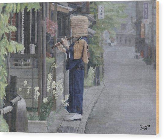 Kadotsuke Wood Print