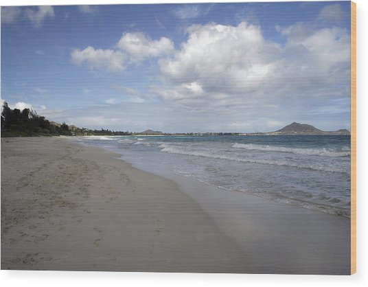 Kailua Beach, Oahu Wood Print