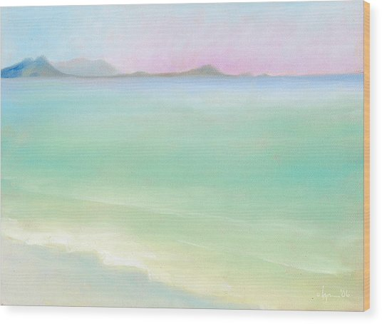 Kailua Sunrise Wood Print
