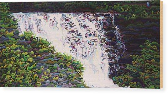 Kakabeca's Concertillion Wood Print