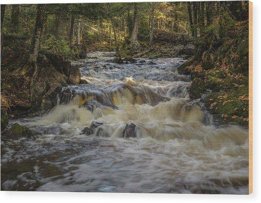Kakabika Falls Wood Print