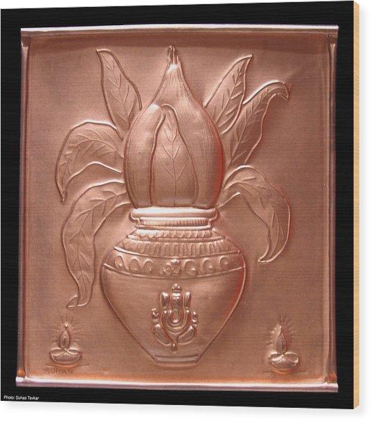 Kalash Wood Print