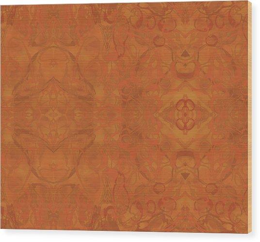 Kaleid Abstract Moroccan Wood Print