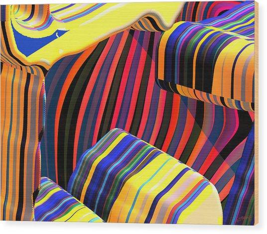 kali-fa-Callg10x11m3n23 Wood Print by Terry Anderson