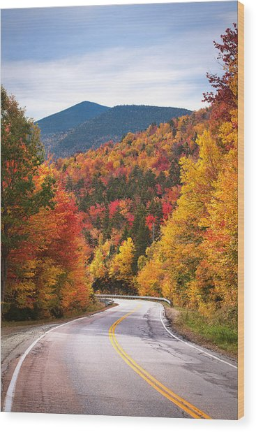 Kancamagus Highway Wood Print