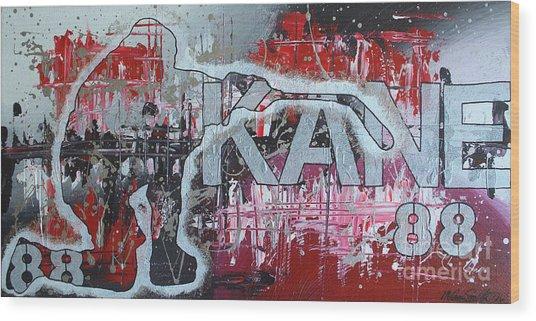 Kaner 88 Wood Print