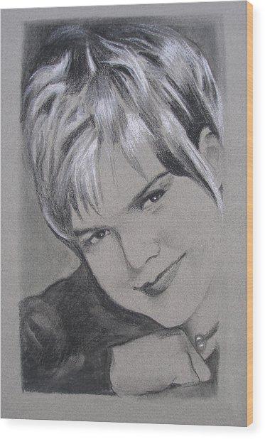 Karin Allyson Wood Print