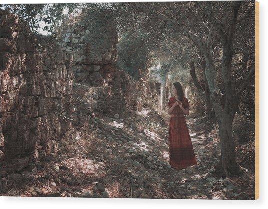 Kassiopi - Corfu Wood Print