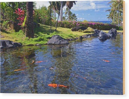 Kauai Serenity Wood Print