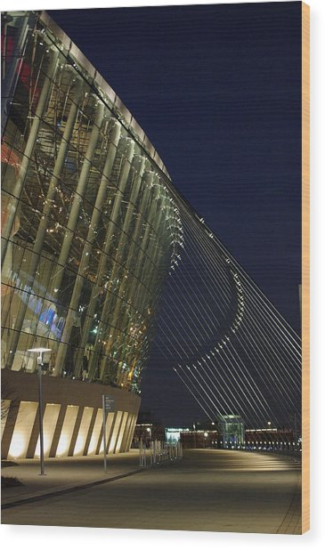 Kauffman Center For The Performing Arts Wood Print