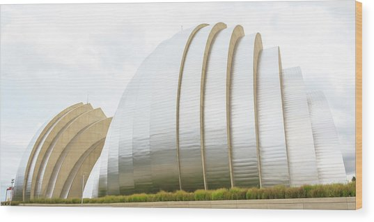 Kauffman Center Performing Arts Wood Print