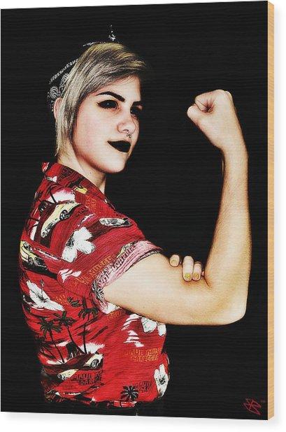 Kelsey 3 Wood Print