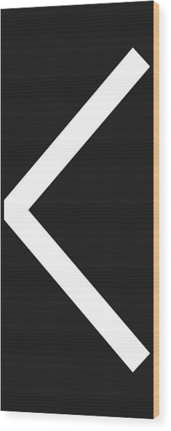 Kenaz Wood Print