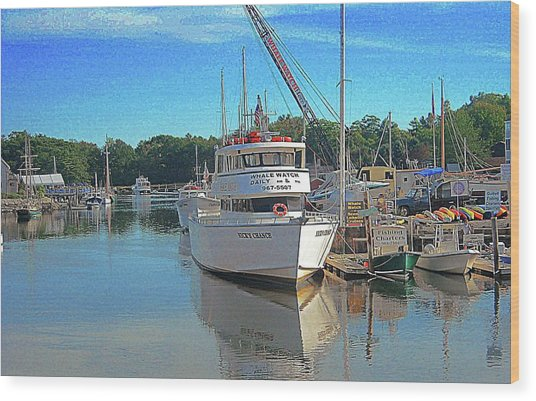 Kennebunk, Maine - 2 Wood Print