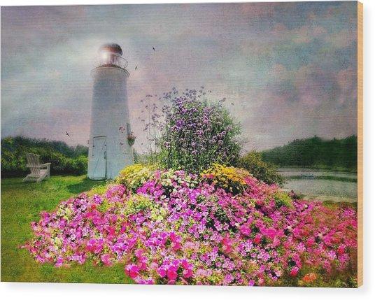 Kennebunkport Lighthouse Wood Print