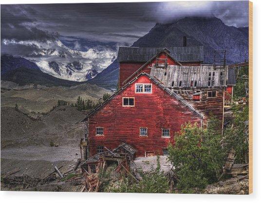 Kennecott Mine  Wood Print