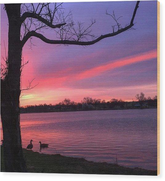 Kentucky Dawn Wood Print