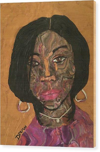 Kenya Wood Print