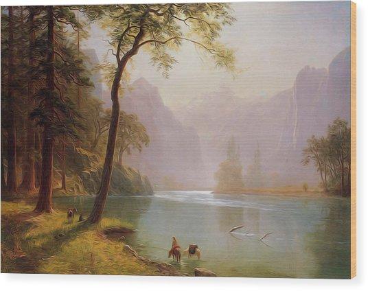 Kern S River Valley California Wood Print