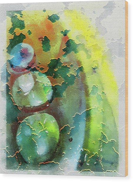 Kernodle On The Half Shell Wood Print
