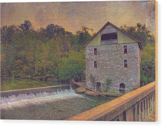 Kern's Mill Wood Print