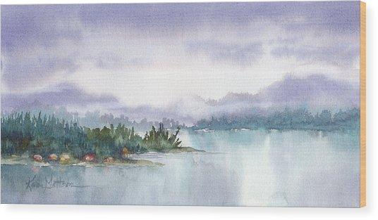 Ketchikan Alaska Inside Passage Shores Wood Print