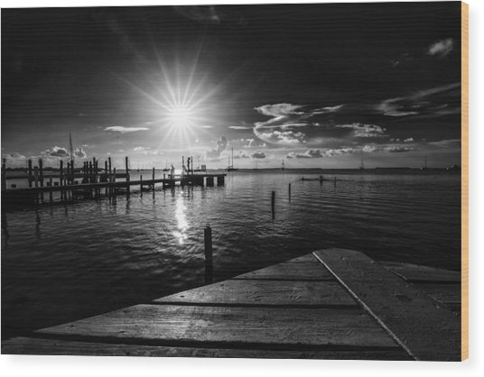 Key Largo Wood Print