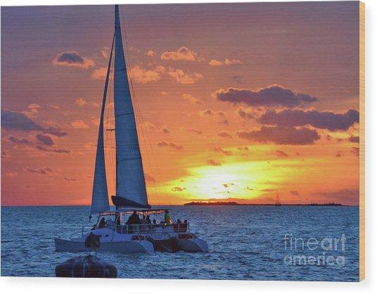 Key West Magic Wood Print