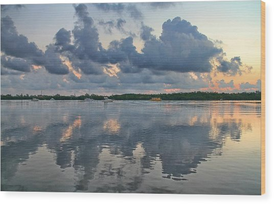 Key West Sunrise 7 Wood Print