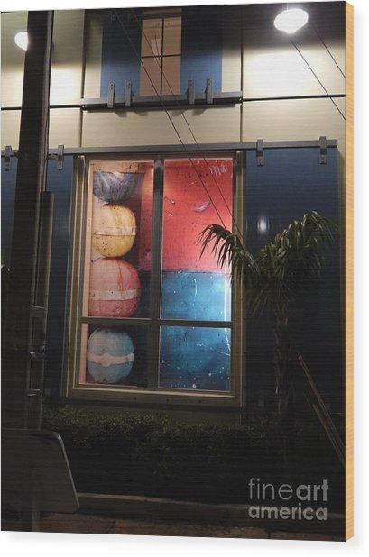 Key West Window Wood Print