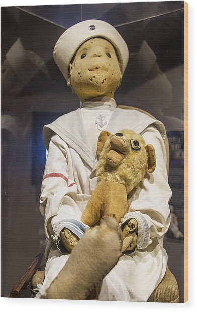 Key Wests Robert The Doll Wood Print