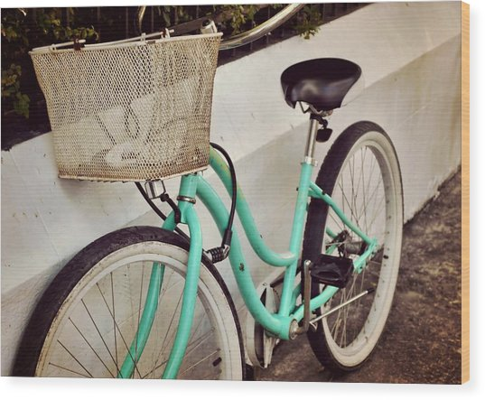 Keycycle Wood Print by JAMART Photography