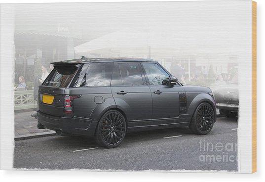 Khan Range Rover Wood Print