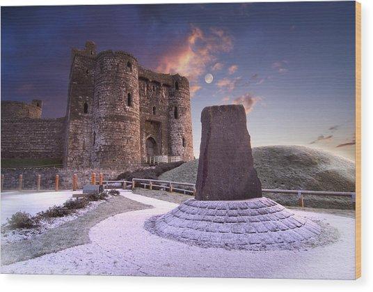 Kidwelly Castle 2 Wood Print