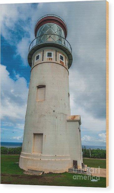 Kilauea Lighthouse Wood Print