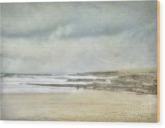 Kilcummin Back Strand Wood Print