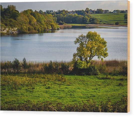Killone Lake In County Clare, Ireland Wood Print