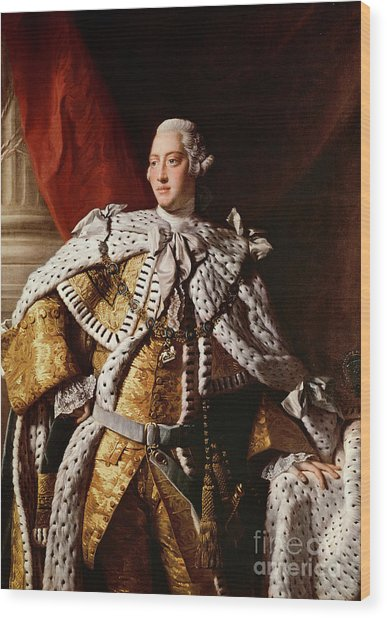 King George IIi Wood Print
