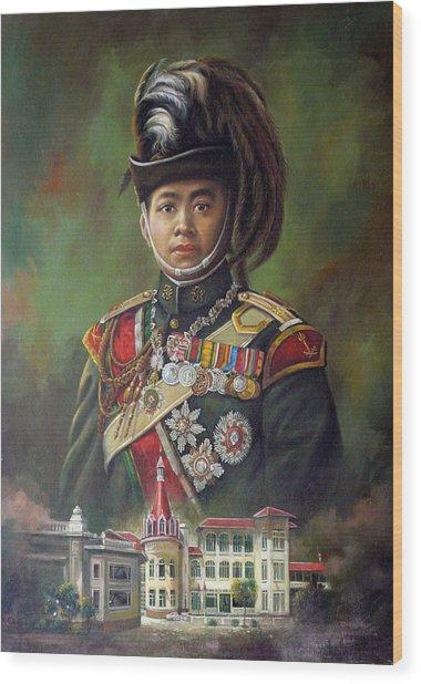 King Mongkut Wood Print