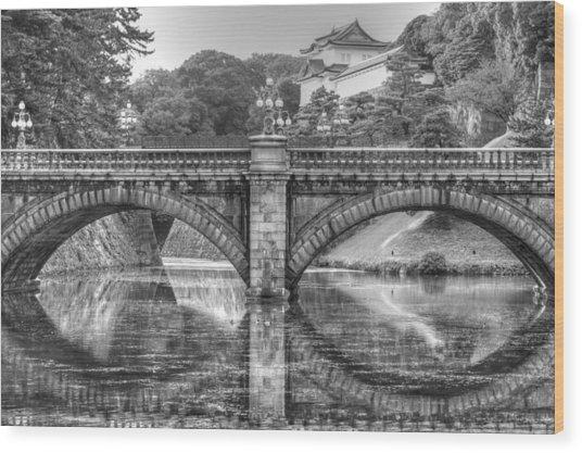 Kings Bridge Tokyo Wood Print