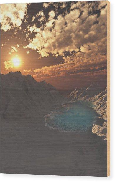 Kings Canyon Wood Print